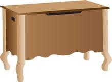 хранение шкафа деревянное Стоковые Фотографии RF