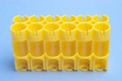 хранение шлицев батареи пустое Стоковая Фотография RF