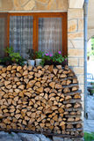 Хранение Firewoods Стоковые Фотографии RF