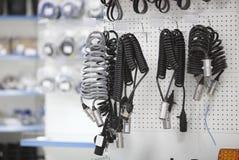 Храните запасные части для генератора автомобилей Стоковое Фото
