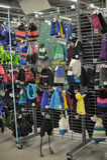 Храните одежды зимы Стоковое фото RF