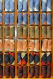 Хранят носки, который, дело одежд, красочный шкаф стоковые фото