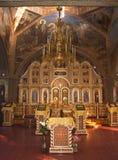Христианин церков Внутренний интерьер Стоковое Фото