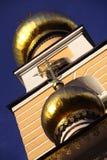 христианка придает куполообразную форму: ortodoxal висок spaso preobra стоковое изображение rf