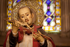 христианская вероисповедная статуя Стоковое фото RF