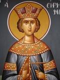 христианская икона Стоковая Фотография