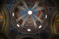 христианская фреска Стоковое фото RF