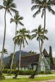 Христианская церковь в Гаваи Стоковая Фотография