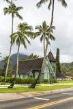 Христианская церковь в Гаваи Стоковое фото RF