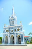 Христианская церковь в Таиланде стоковые изображения