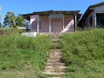 Христианская церковь в Bastimentos, Панаме Стоковые Изображения