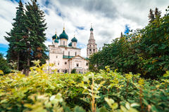 Христианская церковь в Yaroslavl, России Стоковые Изображения RF