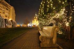 Христианская церковь на времени рождества - 01 Стоковое фото RF