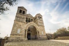 Христианская церковь на держателе Таборе Стоковое Изображение RF