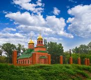 христианская церковь славная Стоковые Фотографии RF