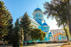 Христианская церковь Constantin si Elena Стоковая Фотография