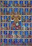 христианские настенные росписи Стоковая Фотография