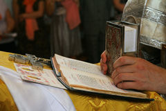 Христианские правоверные молитвы Стоковые Фотографии RF