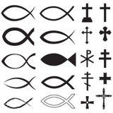 Христианские символы Стоковая Фотография RF