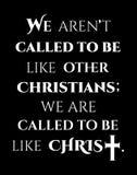 Христианский дизайн с крестом текста Иисуса Христа и мотивации иллюстрация вектора