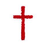 христианский крест Стоковое Изображение RF
