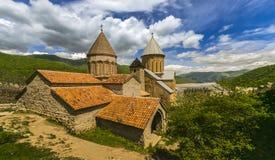 Христианский монастырь в Georgia стоковая фотография
