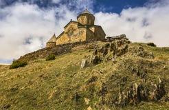 Христианский монастырь в Georgia стоковое изображение