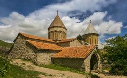 Христианский монастырь в Georgia стоковые изображения rf