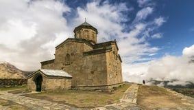 Христианский монастырь в Georgia стоковые фотографии rf