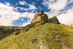 Христианский монастырь в Georgia стоковые фото