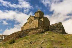 Христианский монастырь в Georgia стоковое фото rf
