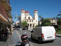 христианский правоверный висок Остров Крита, Греции стоковые изображения