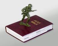 Христианский солдат Стоковые Фото