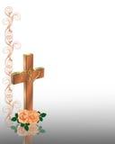 христианское перекрестное венчание приглашения бесплатная иллюстрация
