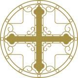христианское перекрестное святейшее Стоковые Фото