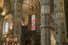 Христианское украшение штендеров собора Стоковое Изображение RF