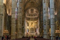 Христианское украшение штендеров собора Стоковое Фото