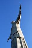 Христос спаситель (Cristo Redentor) Рио, Бразилия Стоковое Фото