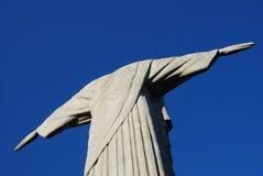 Христос спаситель (Cristo Redentor) Рио, Бразилия Стоковые Фото