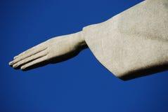 Христос спаситель (Cristo Redentor) Рио, Бразилия Стоковые Изображения