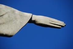 Христос спаситель (Cristo Redentor) Рио, Бразилия Стоковое Изображение RF