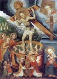 Христос у точилі Royalty Free Stock Images