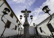 Христос de los Faroles, Cordova анданте Испания Стоковая Фотография