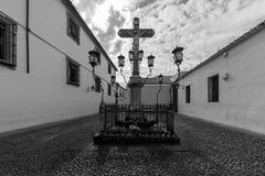 Христос de los Faroles, Cordova анданте Испания Стоковое Изображение RF