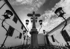 Христос de los Faroles, Cordova анданте Испания Стоковые Фотографии RF