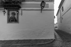 Христос de los Faroles, Cordova анданте Испания Стоковая Фотография RF