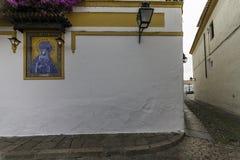 Христос de los Faroles, Cordova анданте Испания Стоковое Изображение