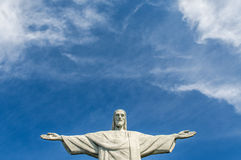 Христос Redeemer Рио Де Жанеиро Бразилия Стоковое фото RF