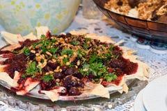 Хромающий bi Karaz - фрикадельки в еде Халеба соуса вишни стоковые фотографии rf