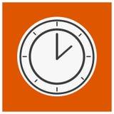 хронометрируйте кругом Стоковое фото RF